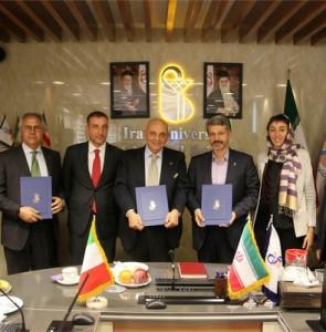 Iran Medical Sciences, Italy's Naples Federico Unis. sign MoU