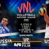 VIDEO: US vs Russia highlights at 2019 VNL final