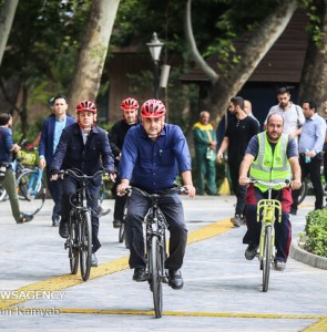 Mehr News Agency - Para-cycling event in Tehran