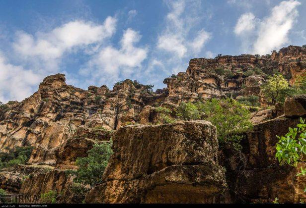Iran's Beauties in Photos: Shirz Canyon